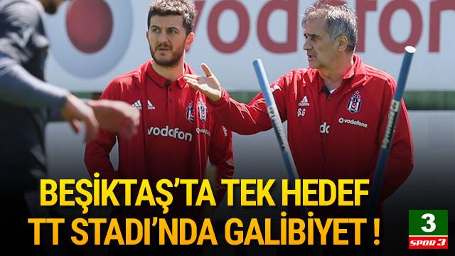 Beşiktaş'ta gözler Galatasaray maçında !