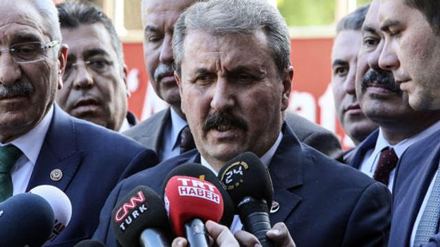 AK Parti ile BBP görüşmesi sonrası ilk açıklama