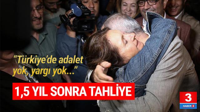 Cumhuriyet gazetesi İcra Kurulu Başkanı Akın Atalay cezaevinden çıktı