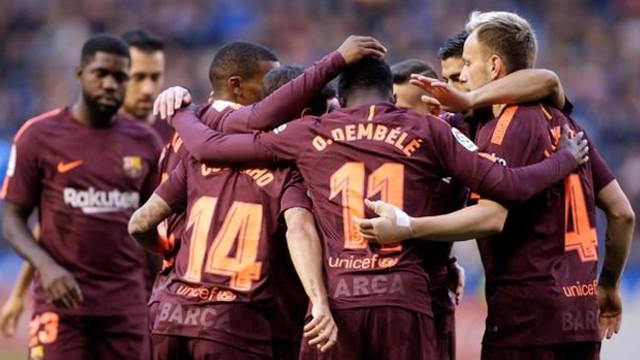La Liga'da şampiyon Barcelona !