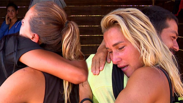 Survivor adasında gözyaşları