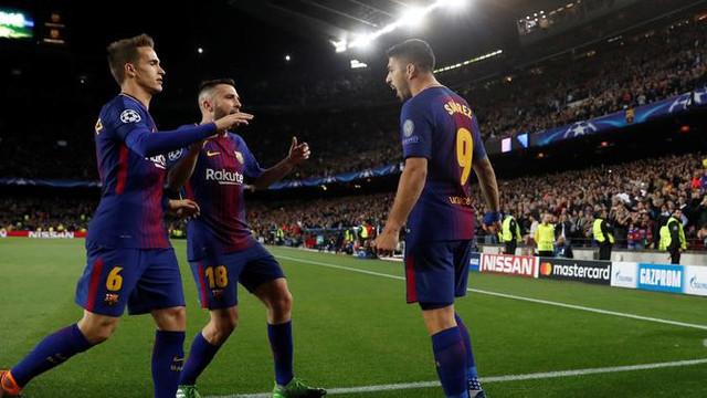 Barcelona - Roma: 4-1
