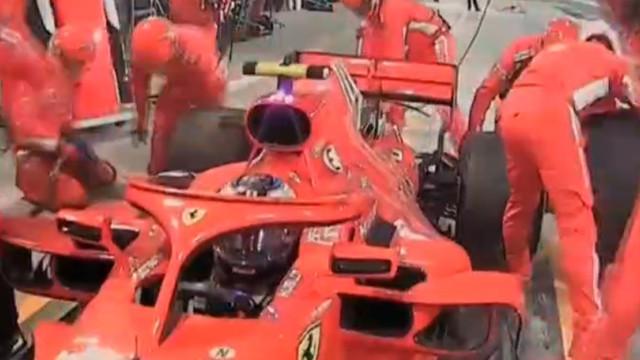 Formula 1'de korkunç kaza ! Bacağı kırıldı...