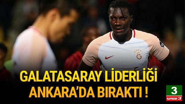 Galatasaray Ankara'da yıkıldı !