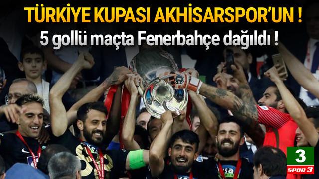 Akhisarspor - Fenerbahçe: 3-2