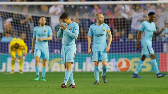 Barcelona'ya Levante şoku !