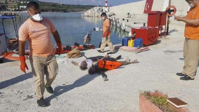 4 göçmen cesedi kıyıya vurdu
