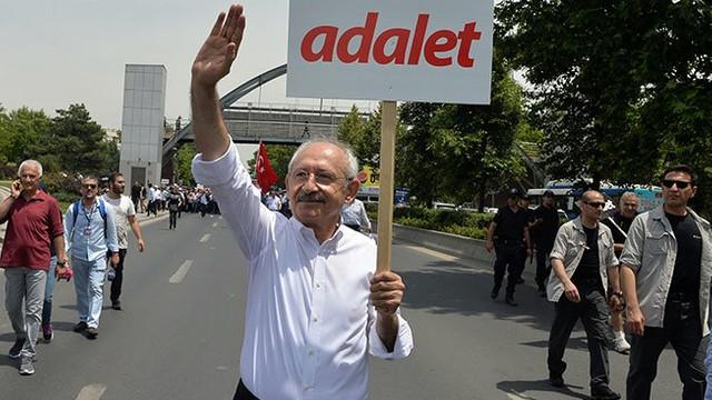 CHP'nin Adalet yürüyüşünde telekulak skandalı