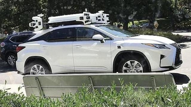 Apple'ın sürücüsüz otomobili ortaya çıktı