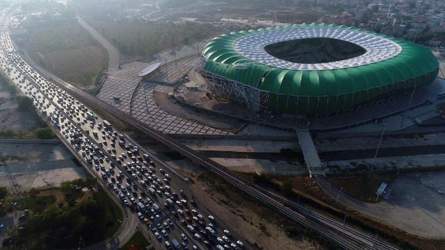 Bursaspor'a müjde ! Timsah Arena...