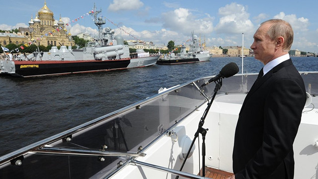 ''Savaş gemileri Akdeniz'de nöbet tutacak''