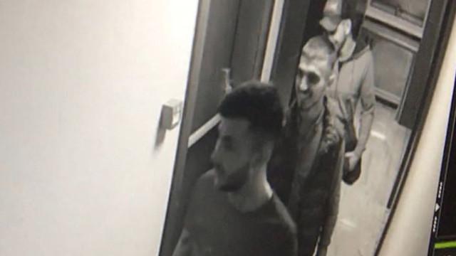 Hırsızlar rezidansta alem yaparken yakalandı !