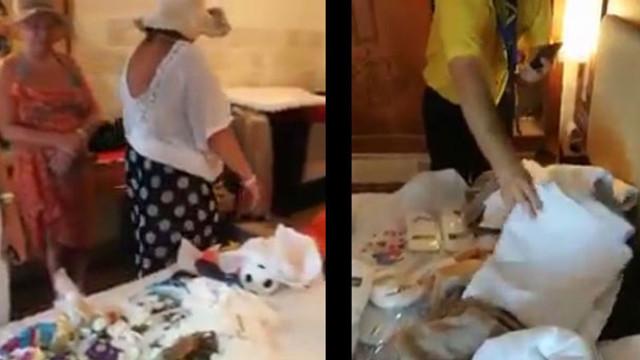 Rus turistin bavulundan çıkanlar şoke etti
