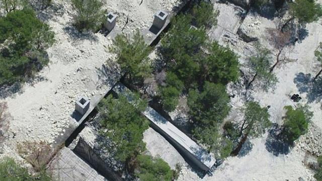 Teröristlere ait kamp alanı bulundu !