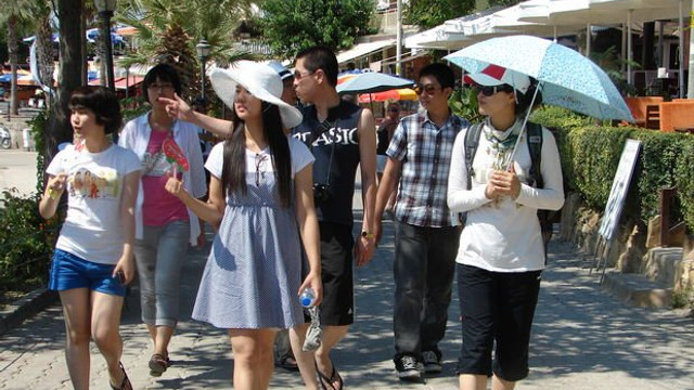 Asya ülkelerinden Türkiye'ye turist akını