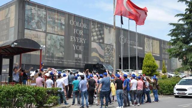 Kozmetik fabrikasında 95 kişi kovuldu