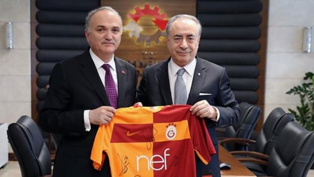 Bakan'dan Galatasaray'a 'Teknokent' müjdesi