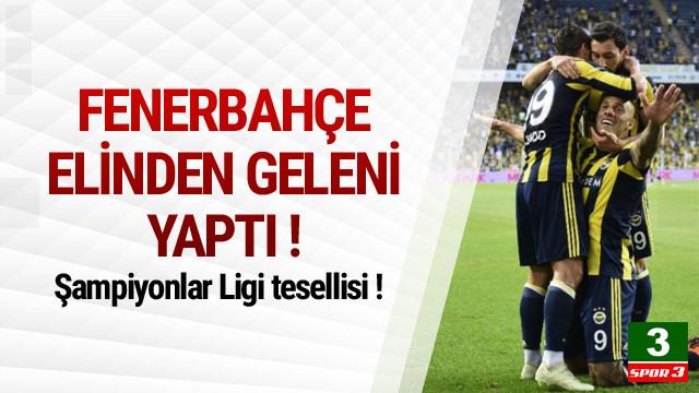 Fenerbahçe - Konyaspor: 3-2