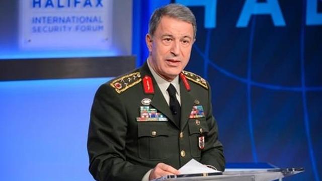 Hulusi Akar: Terörle mücadelede belli bir noktaya gelindi