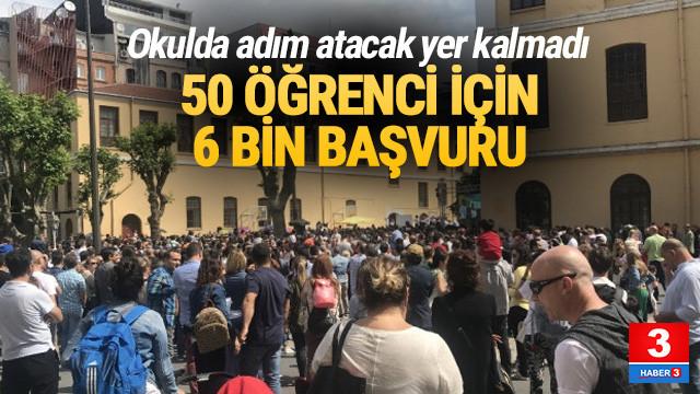 Galatasaray İlkokulu'na 50 öğrenci için 6 bin başvuru