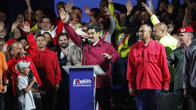 Venezuela'daki seçimleri Maduro kazandı