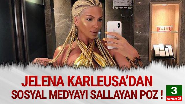Jelena Karleusa'nun fiziği olay yarattı !