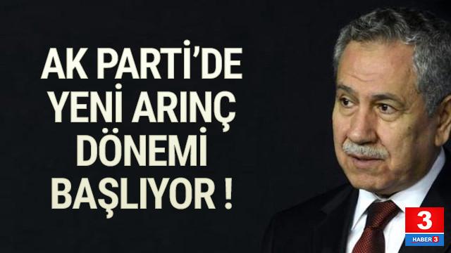 AK Parti'de Arınç sürprizi