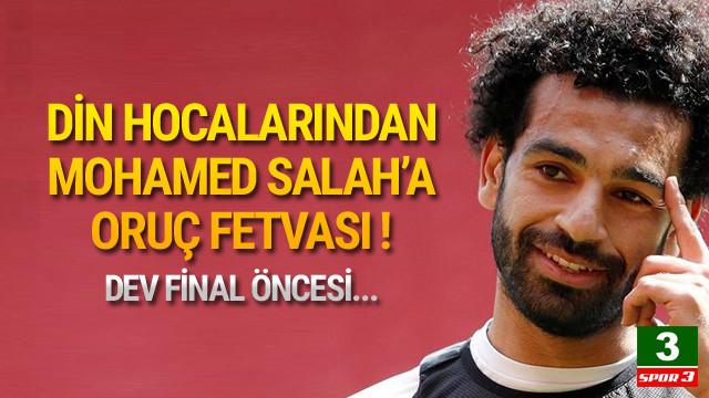 Mohammed Salah'a oruç fetvası !
