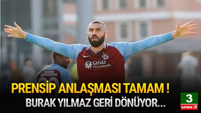 Burak Yılmaz adım adım Beşiktaş'a !