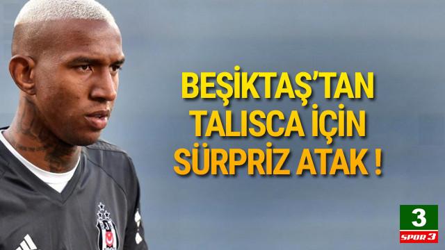 Beşiktaş harekete geçti ! Talisca...
