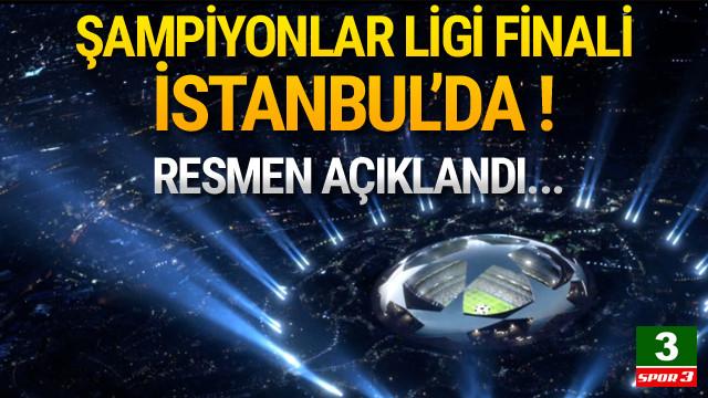 2020 Şampiyonlar Ligi finali İstanbul'da !