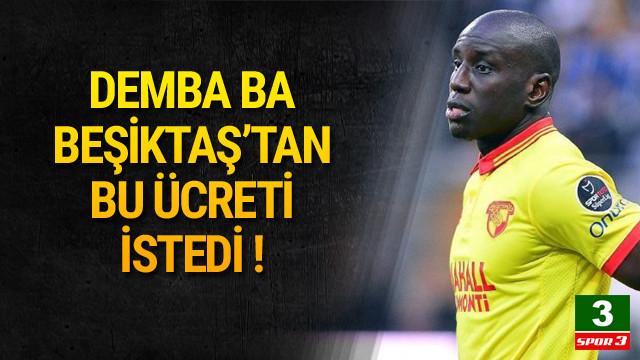Demba Ba Beşiktaş'tan 3 milyon Euro istiyor !