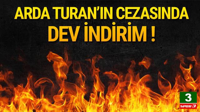 Arda Turan'ın cezası 16'dan 10 maça düşürüldü !