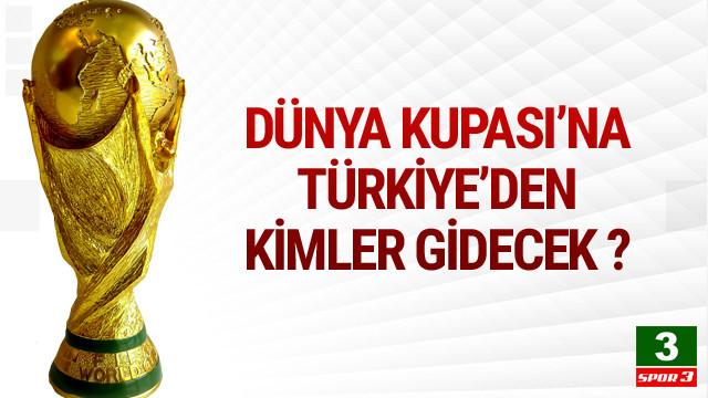Dünya Kupası kadroları belli oldu !