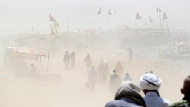 Kum fırtınası felakete yol açtı: 77 ölü, 143 yaralı