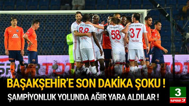 Başakşehir şampiyonluk yolunda ağır yaralı !