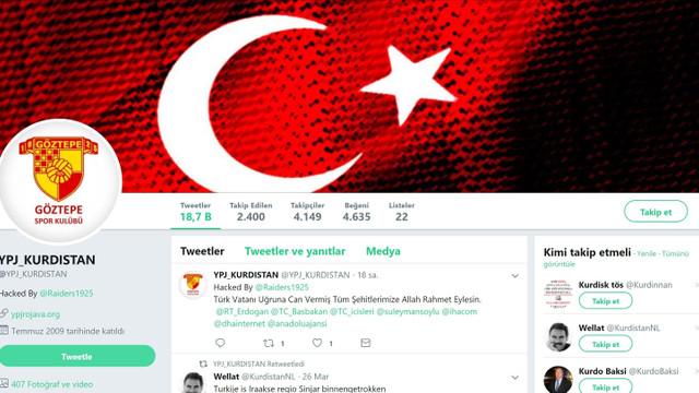 Terör örgütüne Türk Bayrağı darbesi