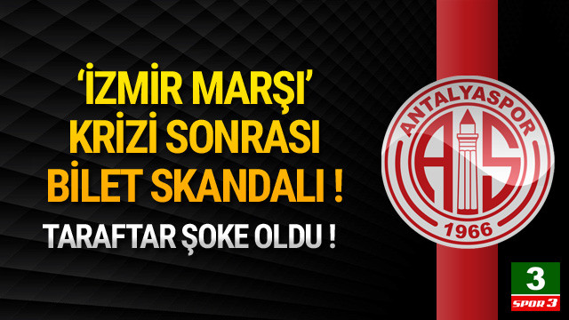 İzmir Marşı krizinde ikinci perde !