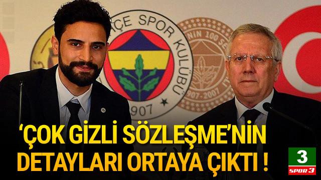 Mehmet Ekici'nin sözleşmesi ortaya çıktı
