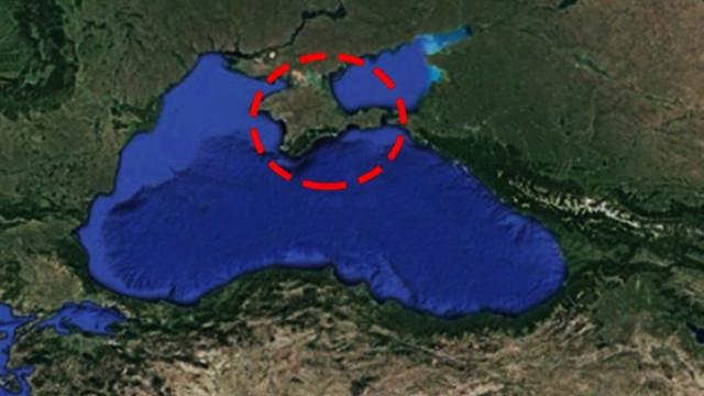 Kırım'ın tamamı karanlığa gömüldü