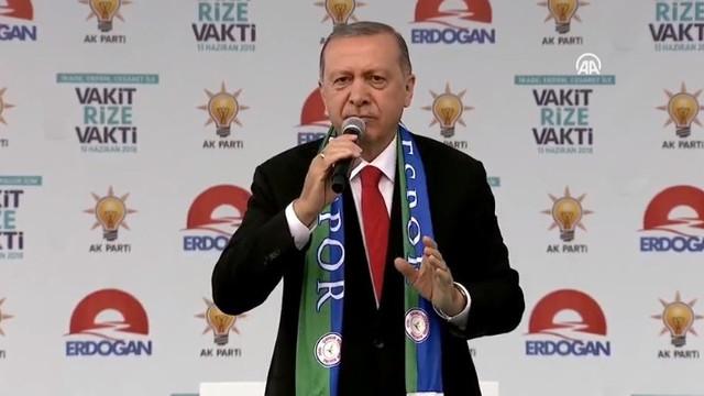 Erdoğan'dan İnce'ye ''beyaz Türk'' yanıtı