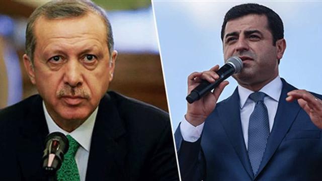 Demirtaş'tan Erdoğan'a: Bu defa sana katılıyorum