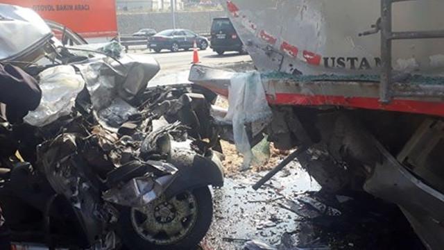 Osmangazi Köprüsü'nde feci kaza: 2 ölü