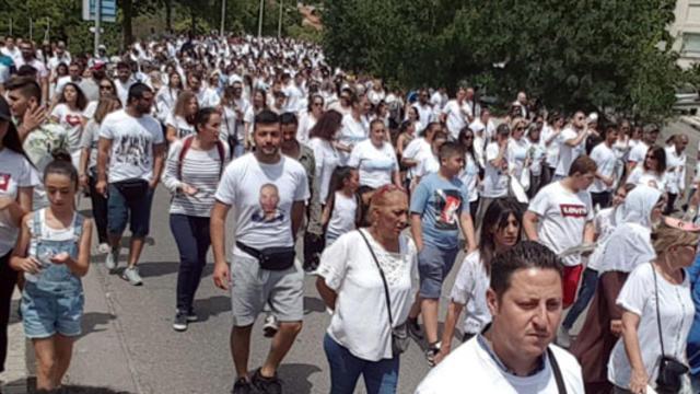Fransa'da binlerce kişi Türk genci için sokaklara döküldü