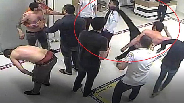 Doktora tekme atan saldrıgan tutuklandı