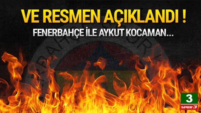 Fenerbahçe Aykut Kocaman ile yollarını ayırdı !
