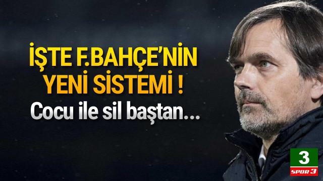 İşte Cocu ile yeni Fenerbahçe !
