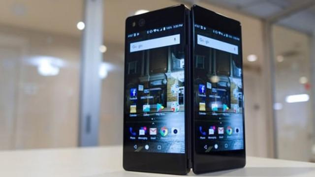 Samsung'un ekranı katlanır telefonu ortaya çıktı