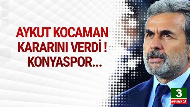 Aykut Kocaman Konysapor kararını verdi !