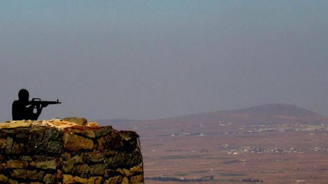 İsrail İHA'sı Suriye'de düştü